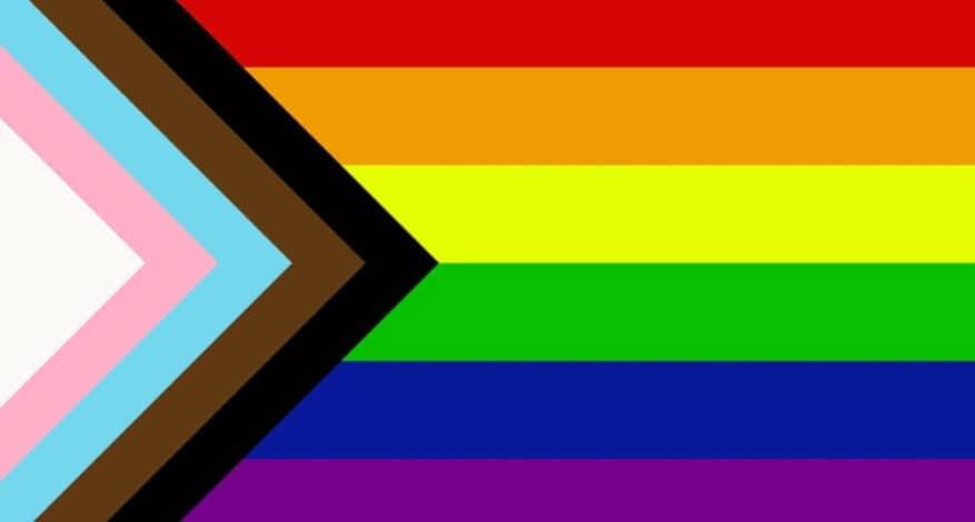 LGBTQ+ Progressive Pride Flag