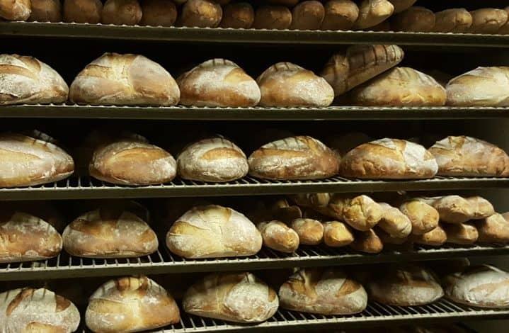 Bread from Sunrise Bakery