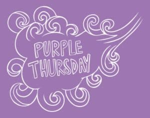 Purple Thursday Banner