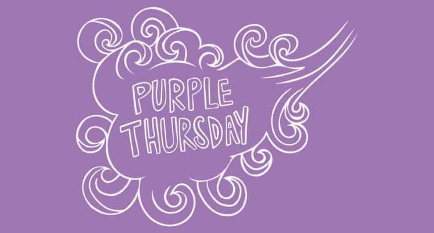 Purple Thursday Banner